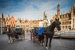 Hull, England to Bruges, Belgium