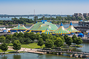 Enjoy the new Cirque du Soleil show