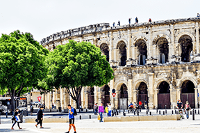 Nîmes, Monday 22 and Tuesday 23 July