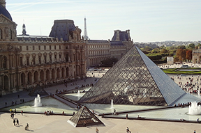 Palais du Louvre in Paris, France