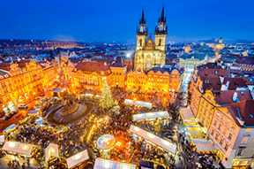 Prague, Czech Republic : 1 December  – 6 January