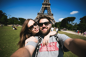 Romance and culture in Paris for 3 nights for £521