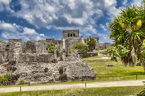 See the ancient Mayan ruins of Tulum